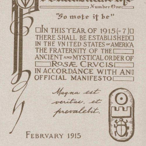 1915_Pronunziamento