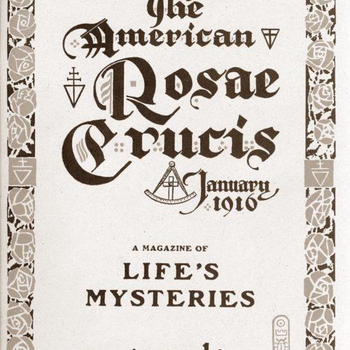 1916_American_Rosae_Crucis